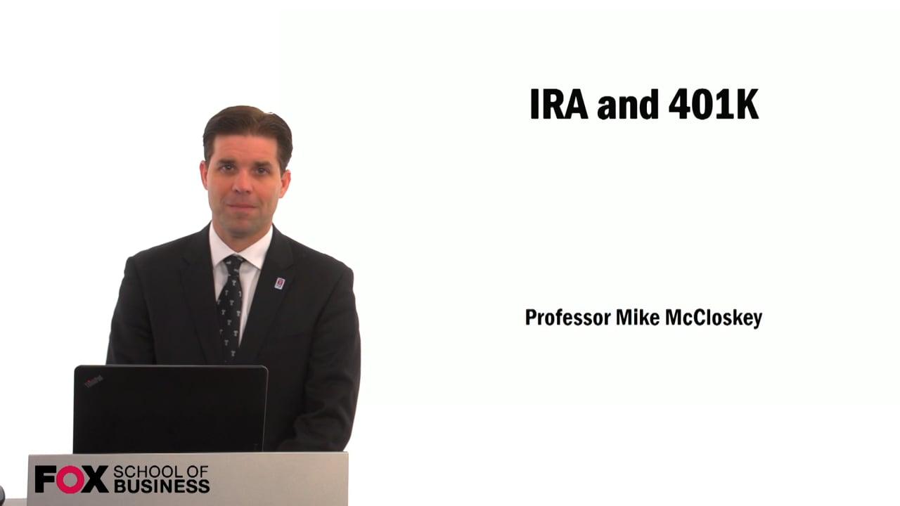 59399IRA and 401k