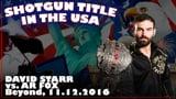 Shotgun Title in the USA: David Starr vs. AR Fox