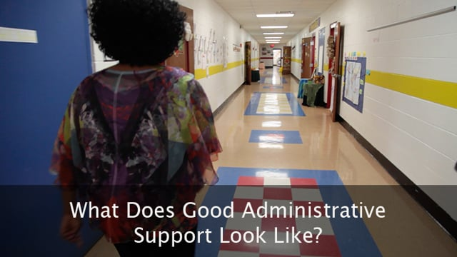 What Does Good Admin Support Look Like?