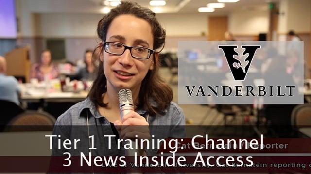 Tier 1 Training at Vanderbilt