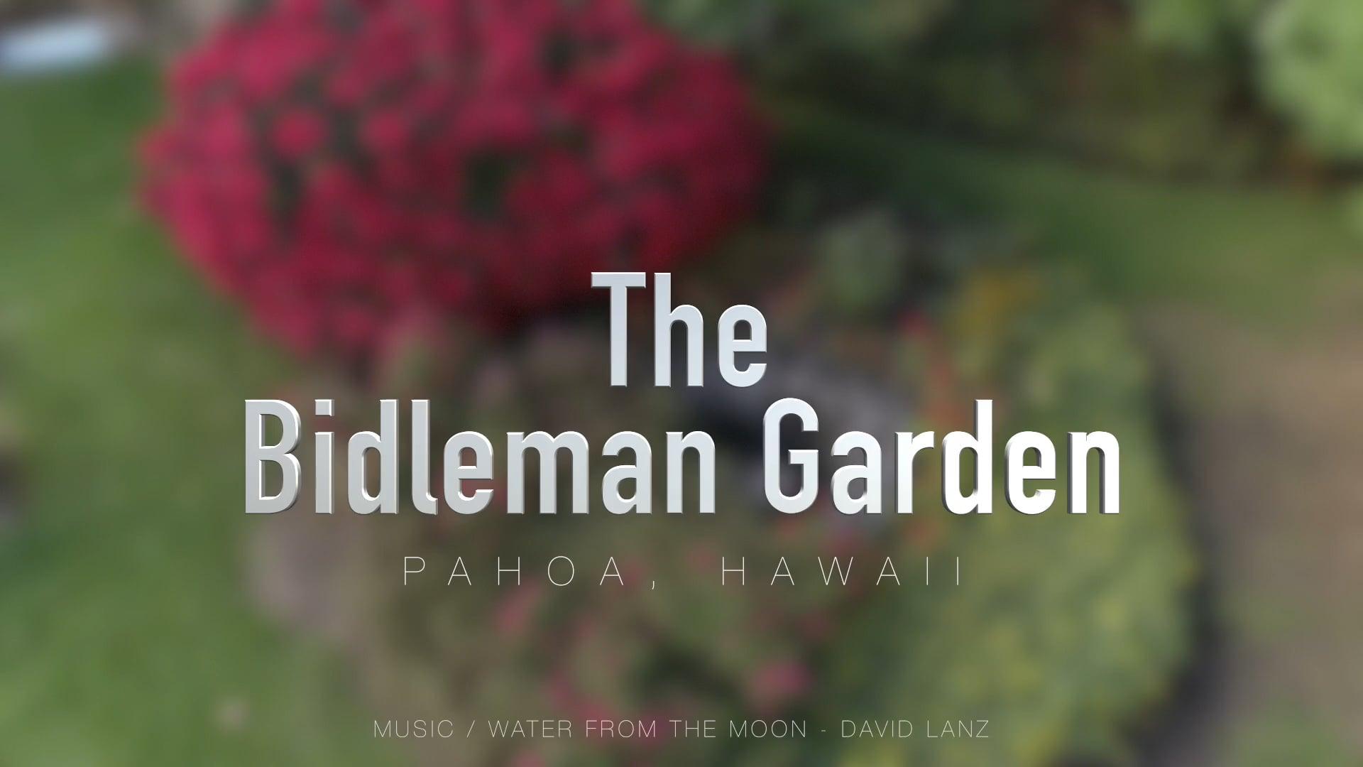 The Bidleman Garden