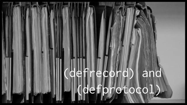 24. defrecord and defprotocol