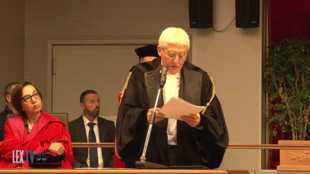 Firenze, Inaugurazione dell'anno giudiziario 2017 -intervento di Sergio Paparo, Presidente dell'Ordine Avvocati di Firenze