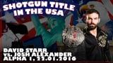 Shotgun Title in the USA: David Starr vs. Josh Alexander