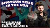 Shotgun Title in the USA: David Starr vs. Keith Lee