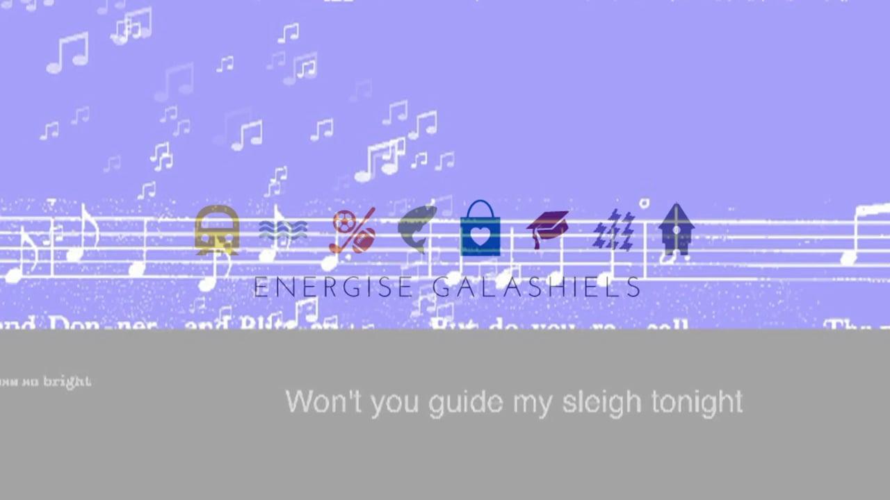 Galashields Christmas Projection December 2016