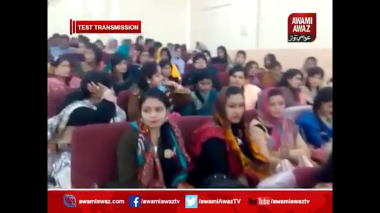 FAFEN District Convention on Charter of Demand and Political Party Manifesto Jamshoro - Awami Awaz TV Report