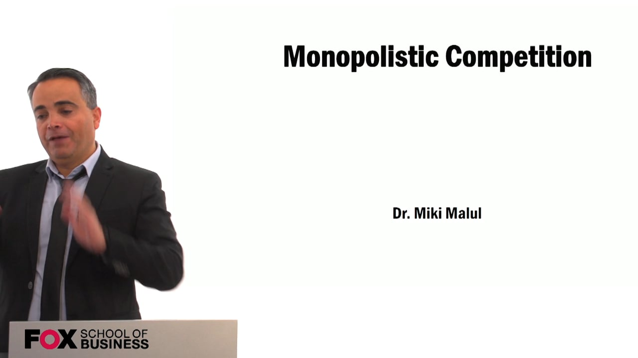 59434Monopolistic Competition