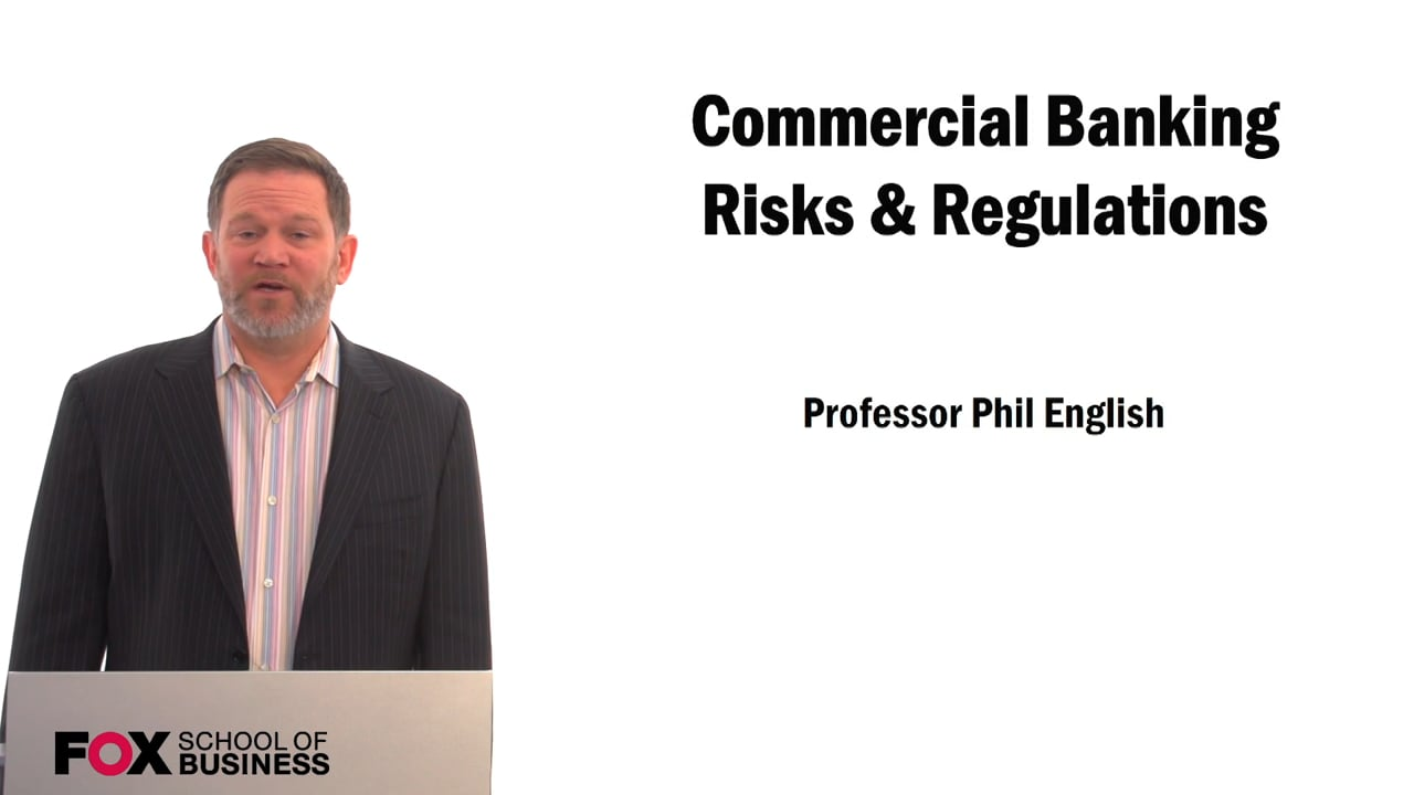 59425Commercial Banking Risks & Regulations
