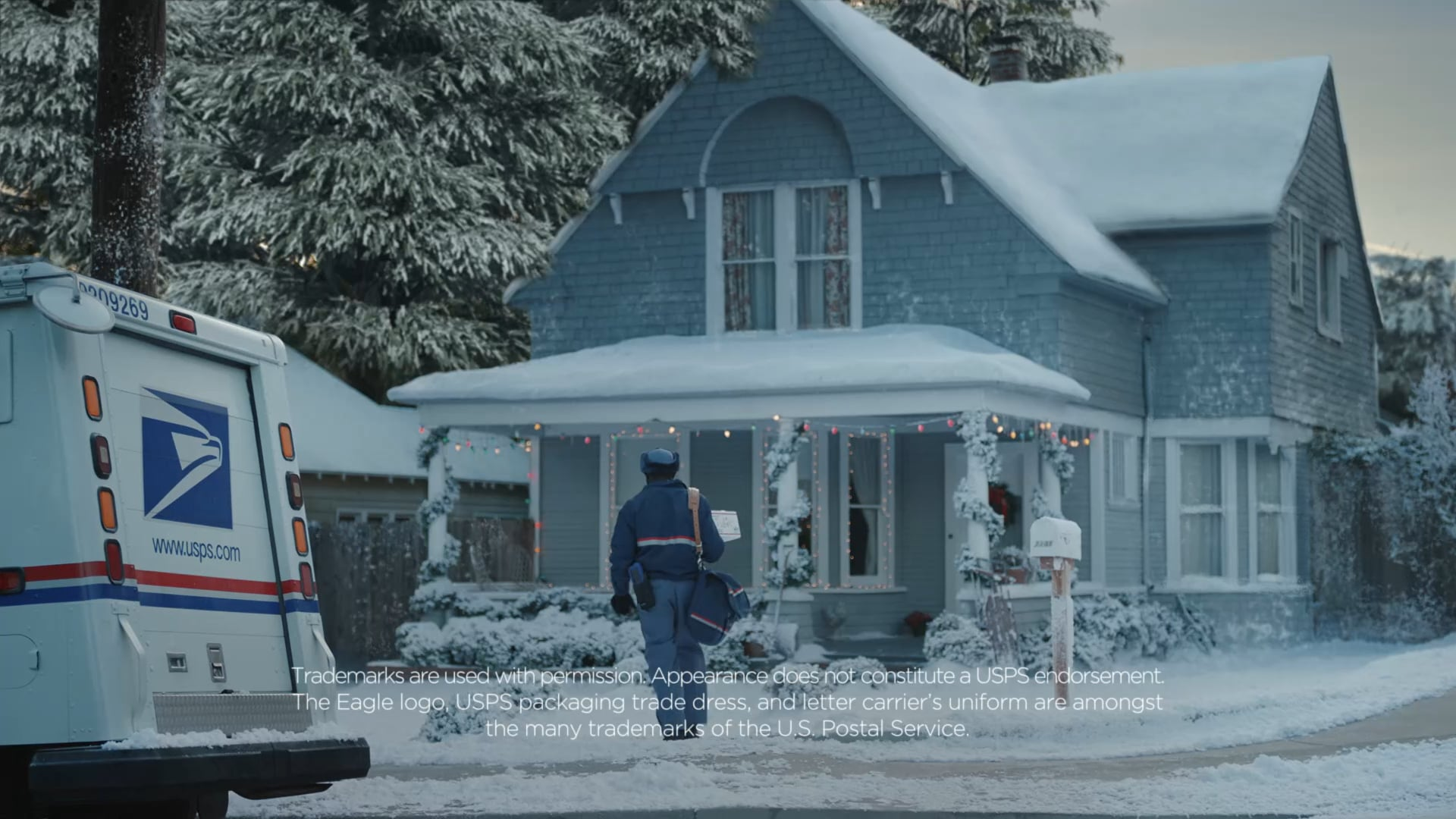 USPS Holiday 2016 Hippo :60 TVC