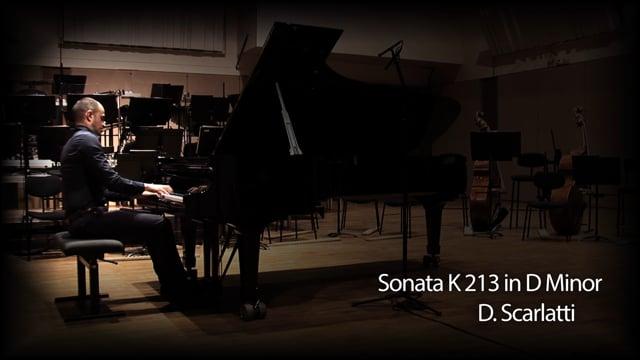 Sonata K213 in D Minor by D. Scarlatti