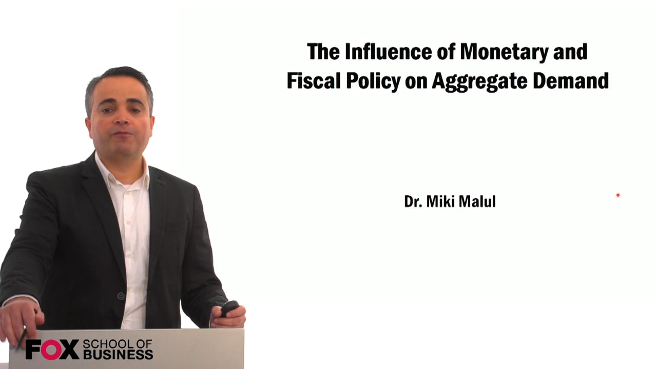 59464The Influence of Monetary and Fiscal Policy on Aggregate Demand