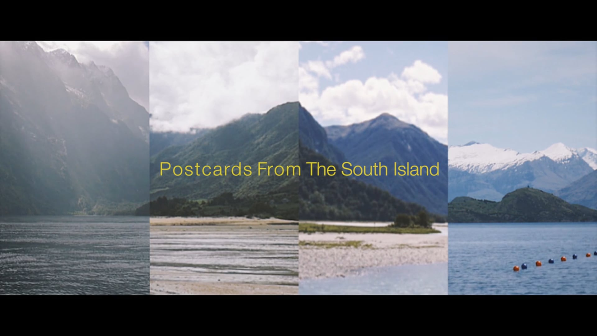 POSTCARDS FROM THE SOUTH ISLAND
