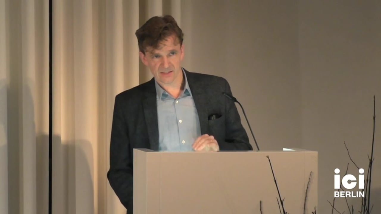 Talk by Hans Ruin