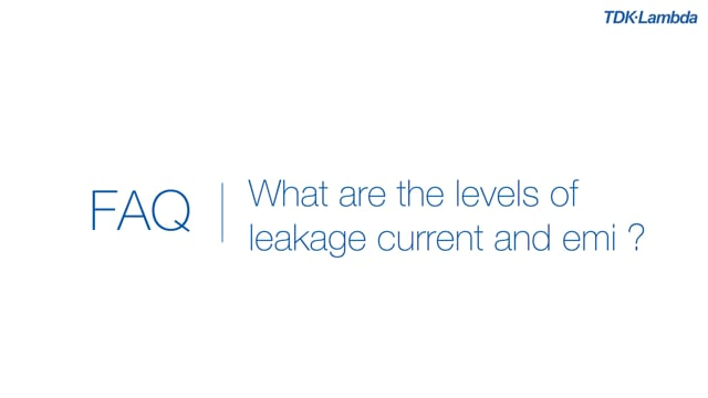 What are the levels of leakage current for CUS200M power supplies?