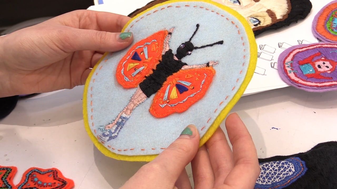 MAKER MAKER: Hand-Stitched Patches with Shauna Gass and Nelligan Letourneau
