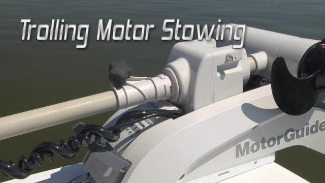 Trolling Motor Stowing Pro Tip