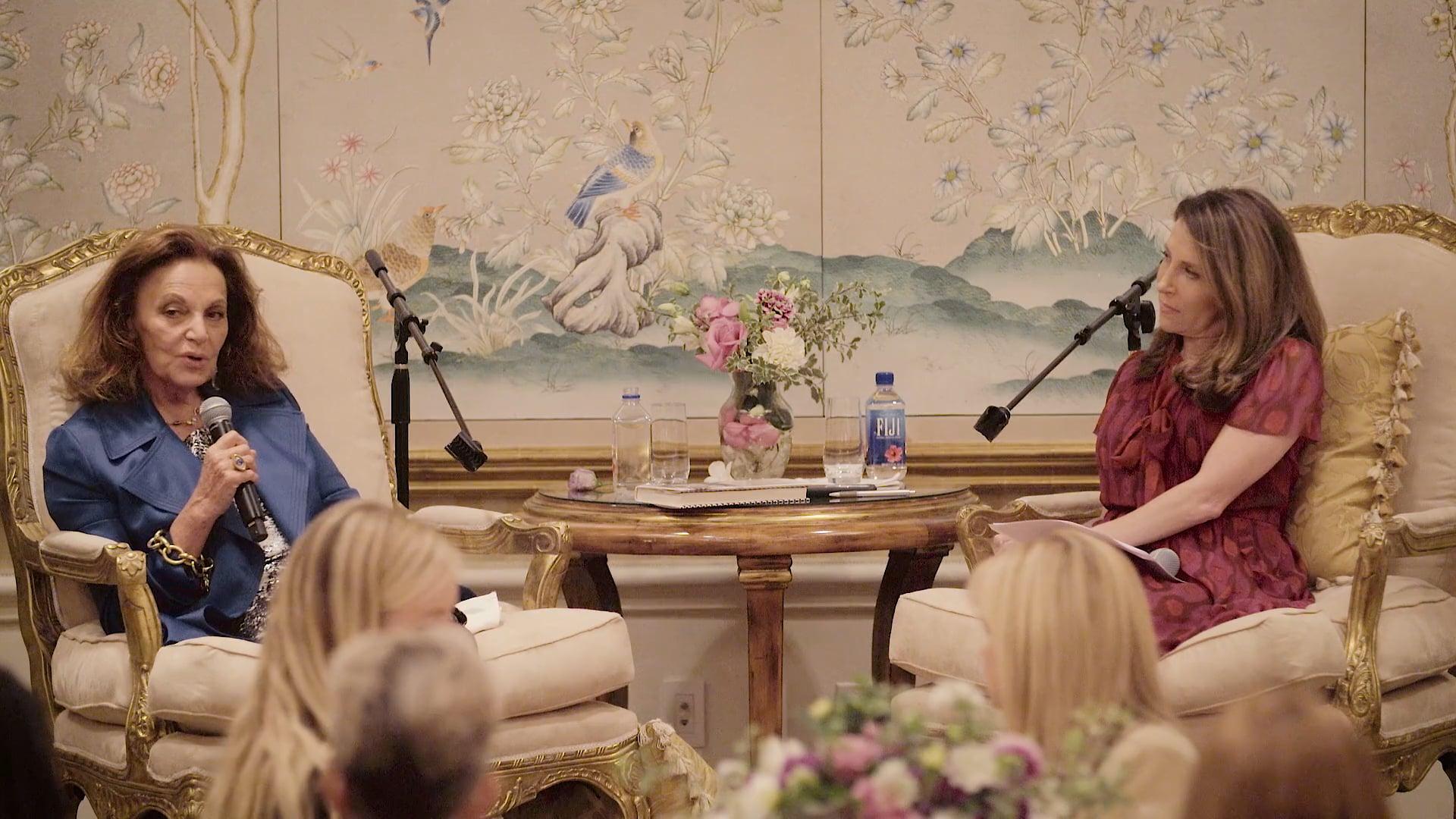 Diane von Furstenberg at inher circle