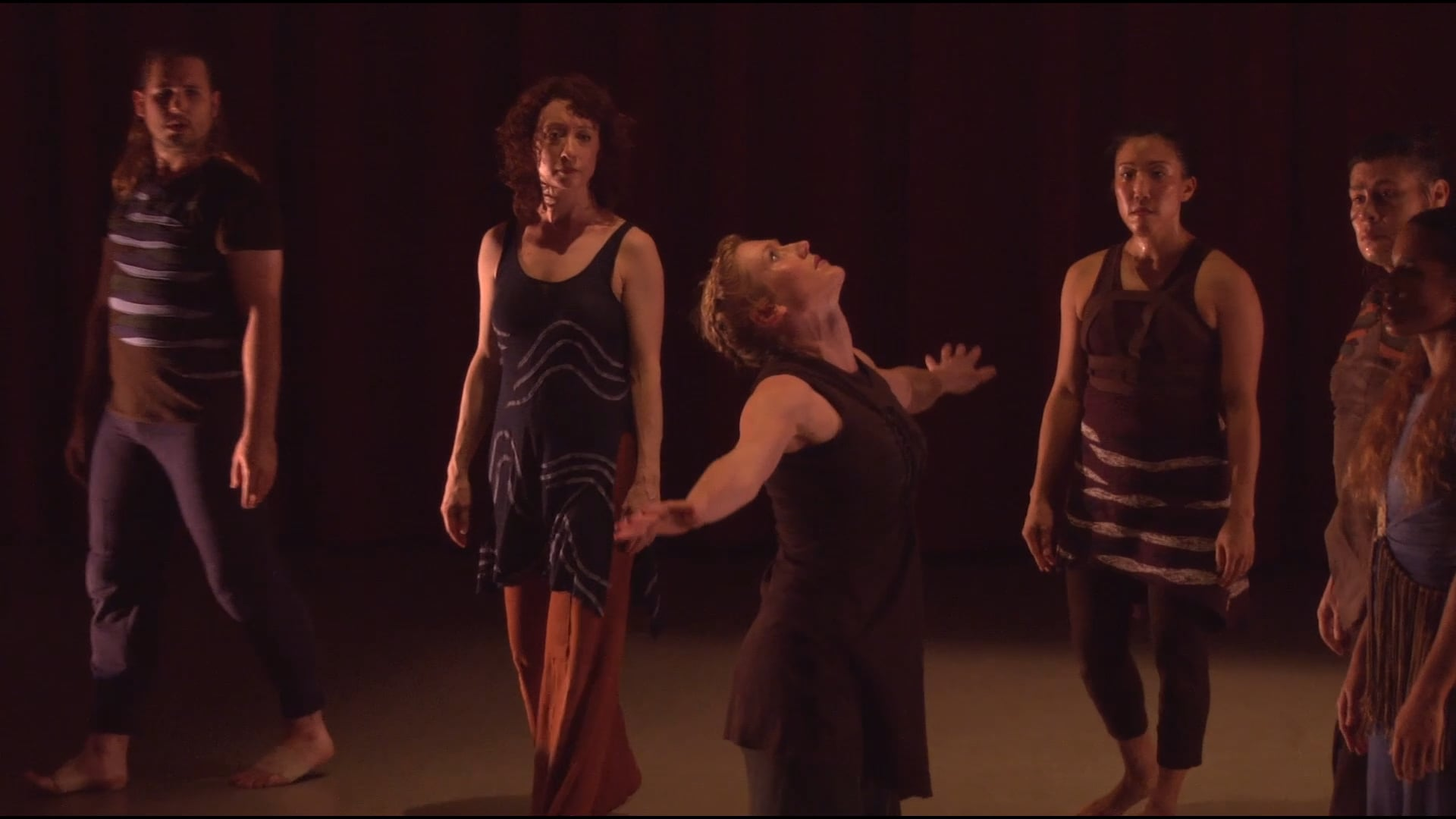 Paufve   dance, Strangers Become Flowers highlight reel