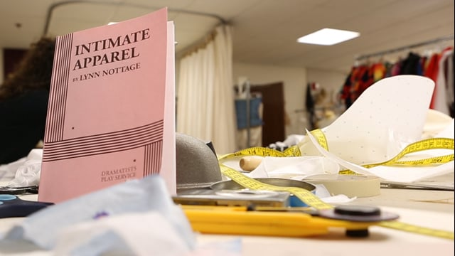 """Behind the Scenes of """"Intimate Apparel"""", Modlin Center for the Arts"""