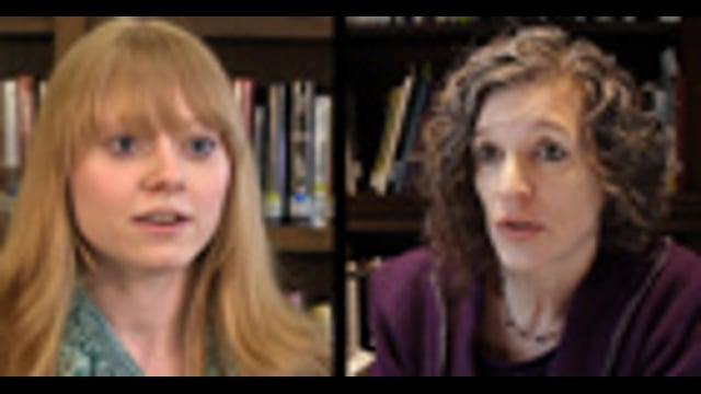 UR Summer Fellowships: Katie Skipper and Libby Gruner