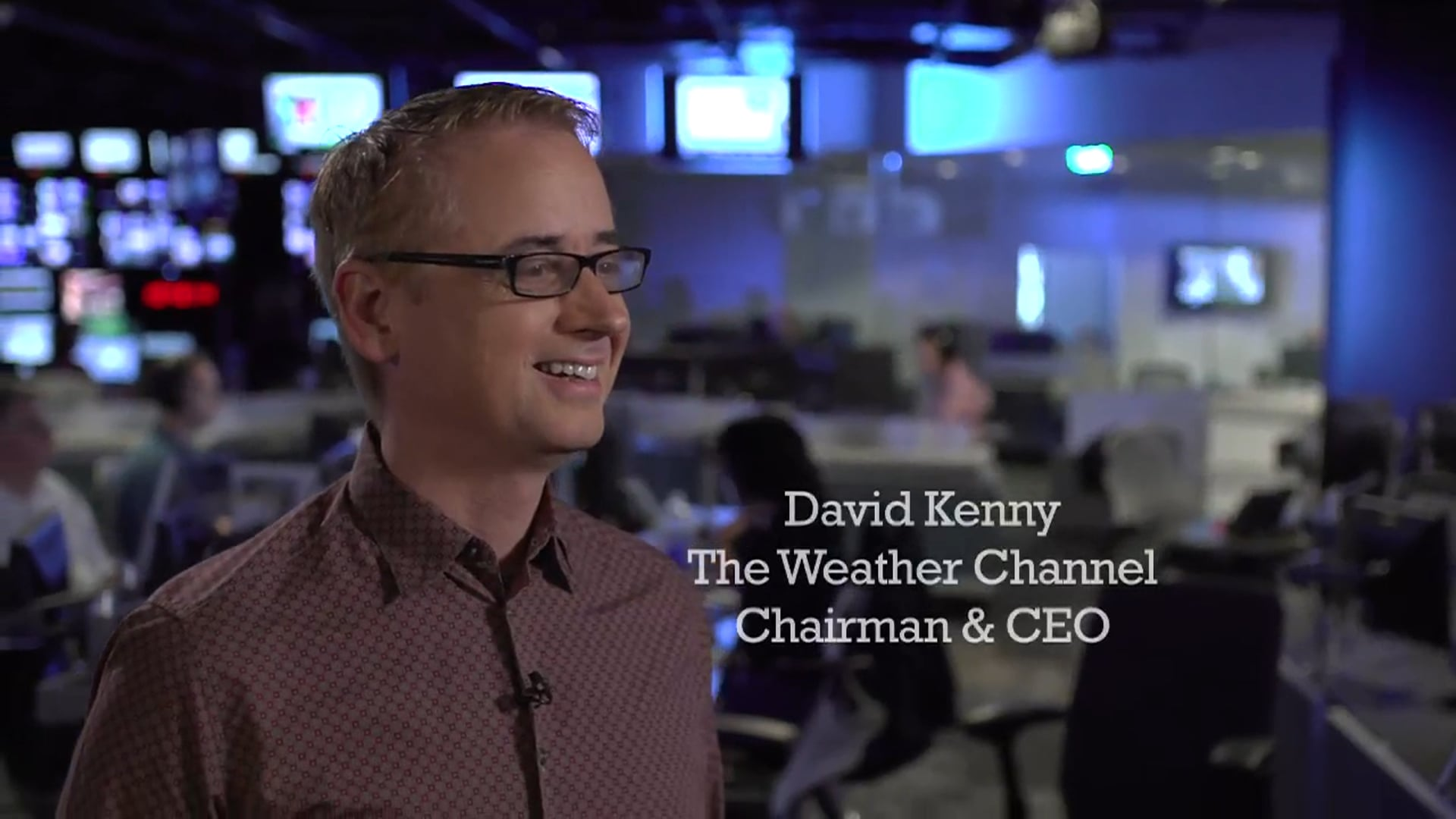 The Weather Channel: CEO (2013) Lensed by Jose A. Acosta and Brandon Thompson for Ignite.