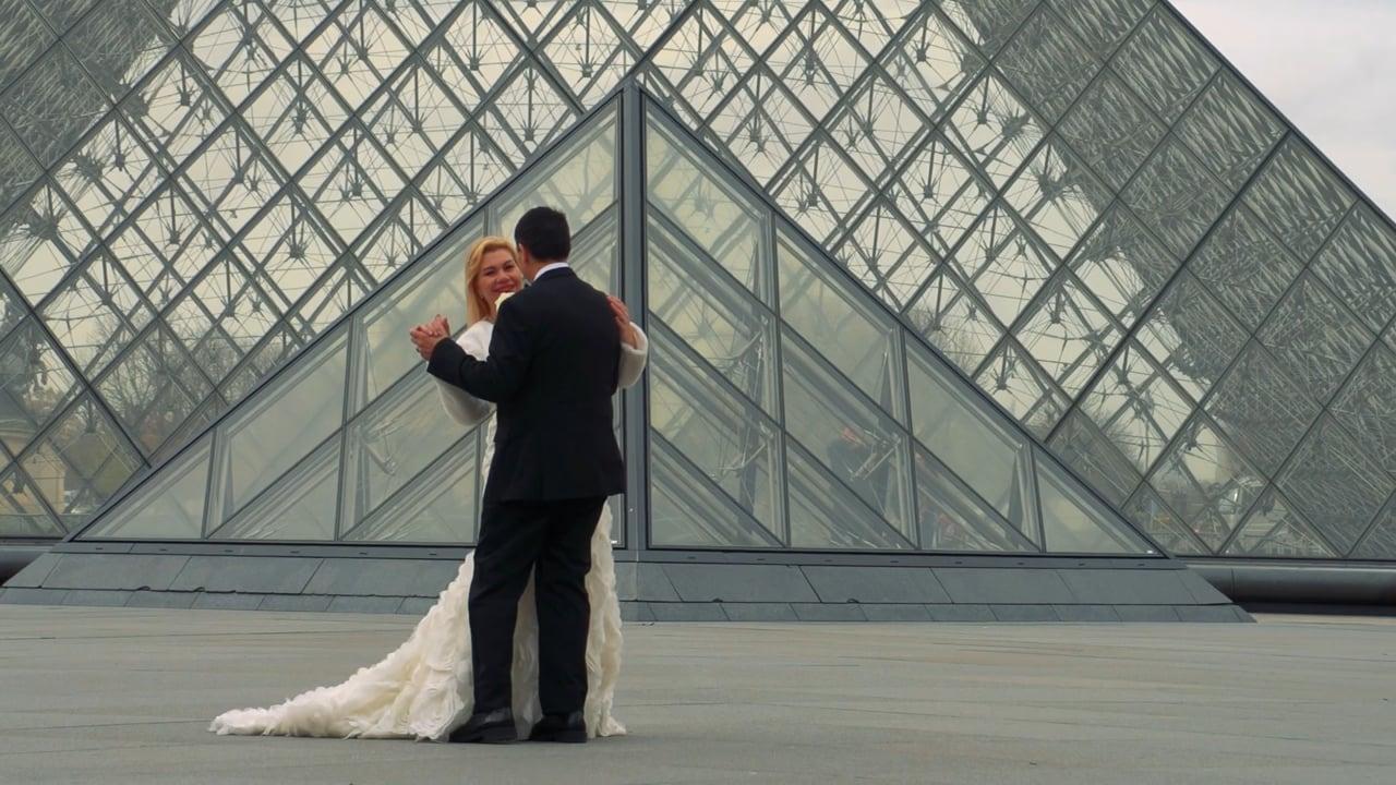 Jennie & Ruben - Destination Wedding in Paris - Instagram Version