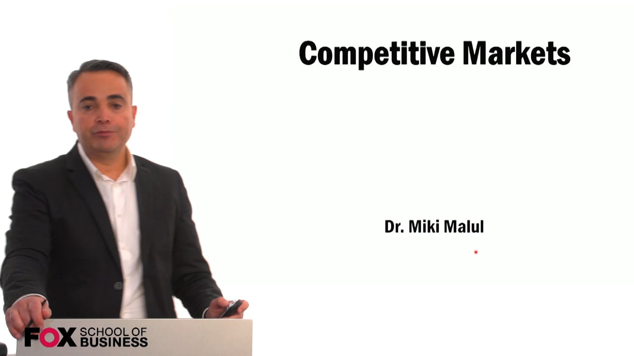59429Competitive Markets