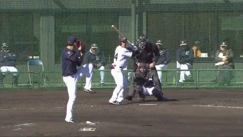 【春季キャンプ】バファローズ・金田の好投でゲームセット!!