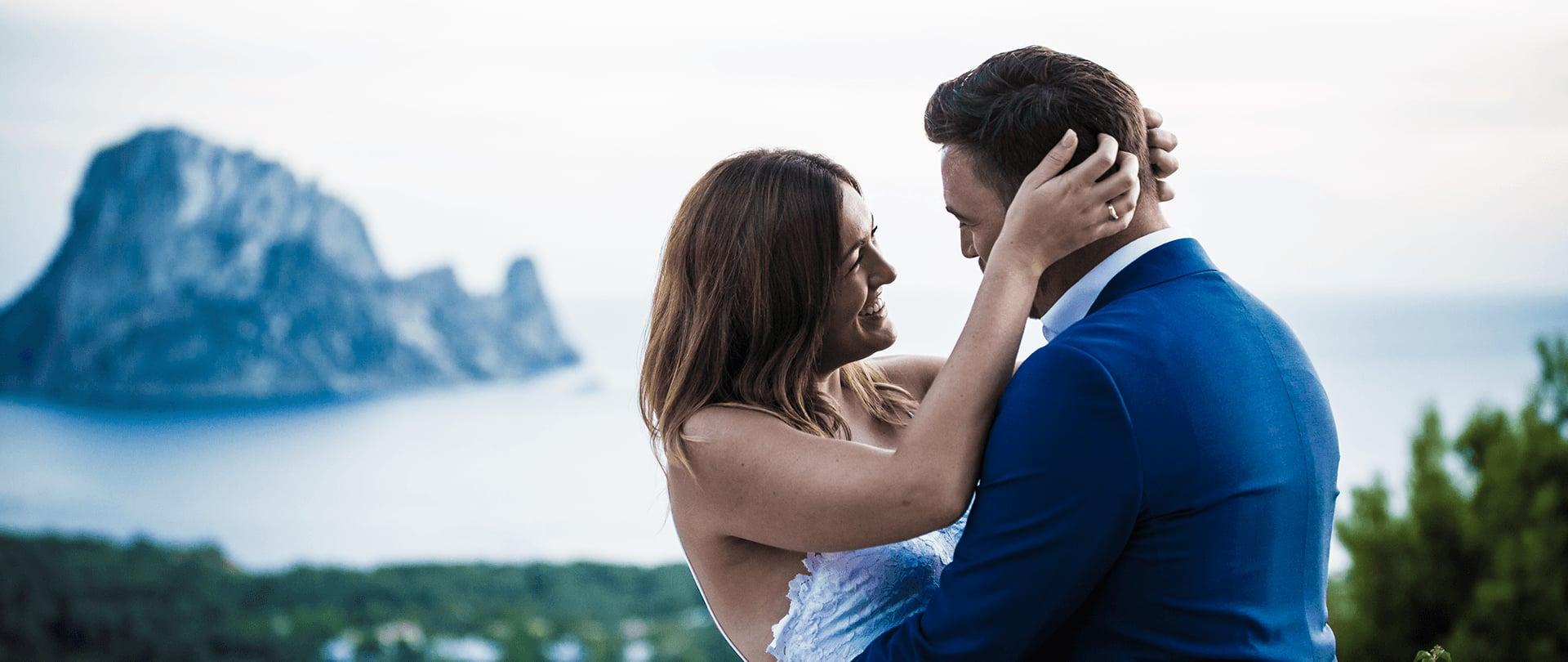 James & Gem Wedding Video Filmed at Ibiza, Spain