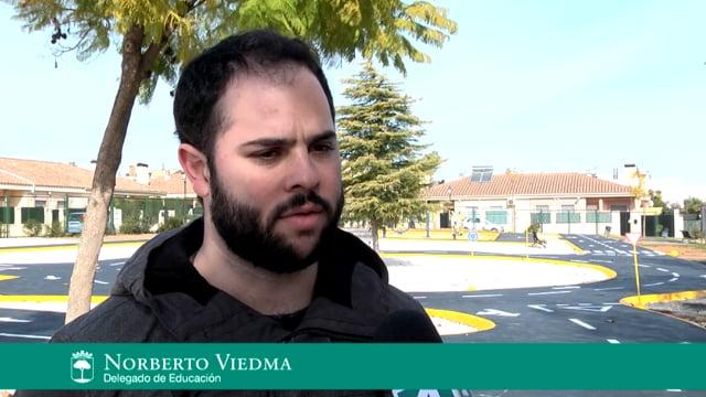 Noticia Parque infantil  Vial.