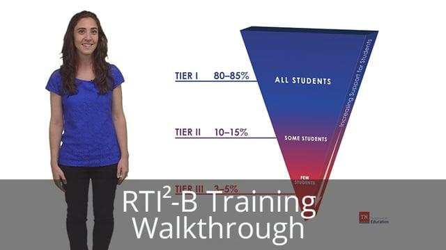 RTI2-B Training Walkthrough