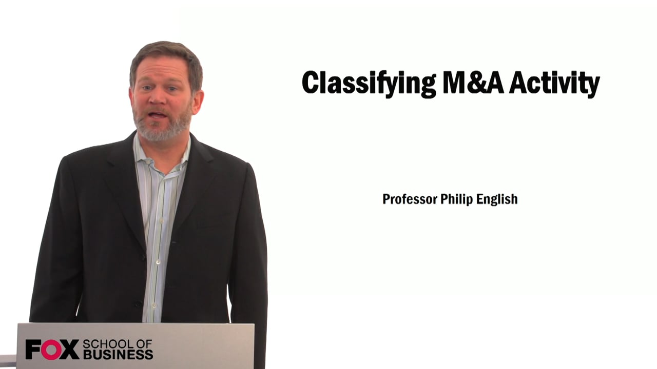 59514Classifying M&A Activity