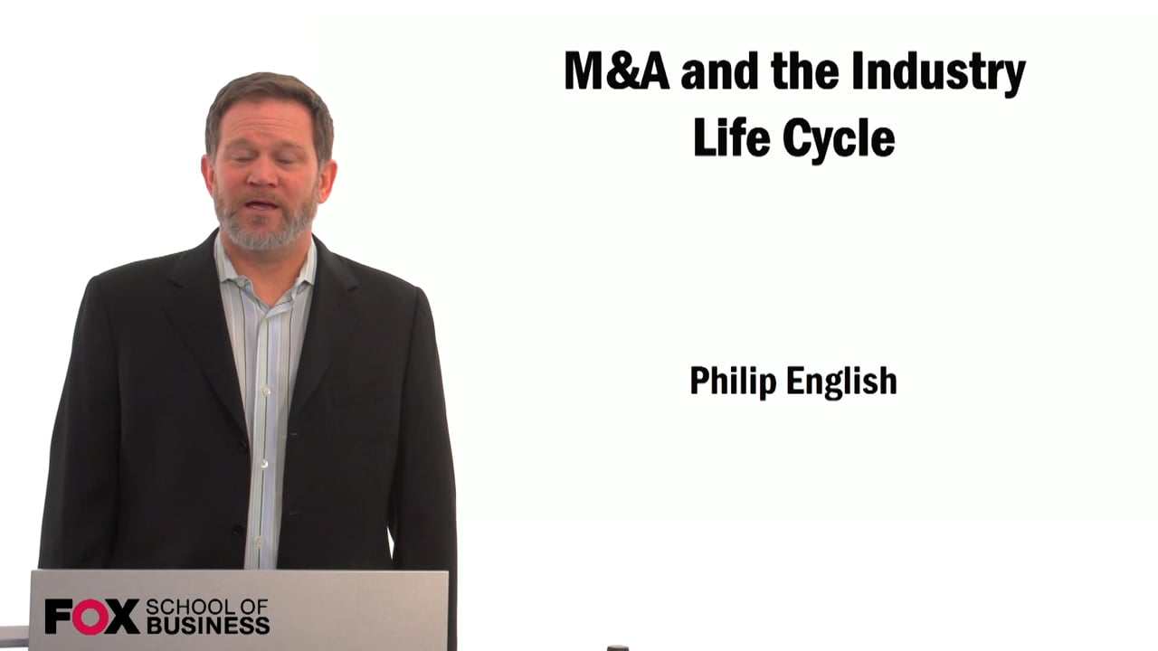 59518M&A and the Industry Life Cycle