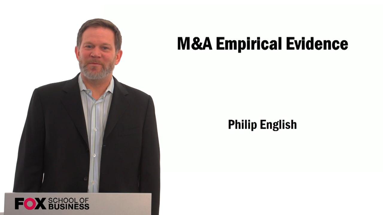 59520M&A Empirical Evidence
