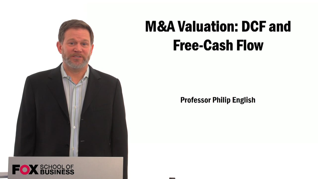59523M&A Valuation: DCF and Free-Cash Flow