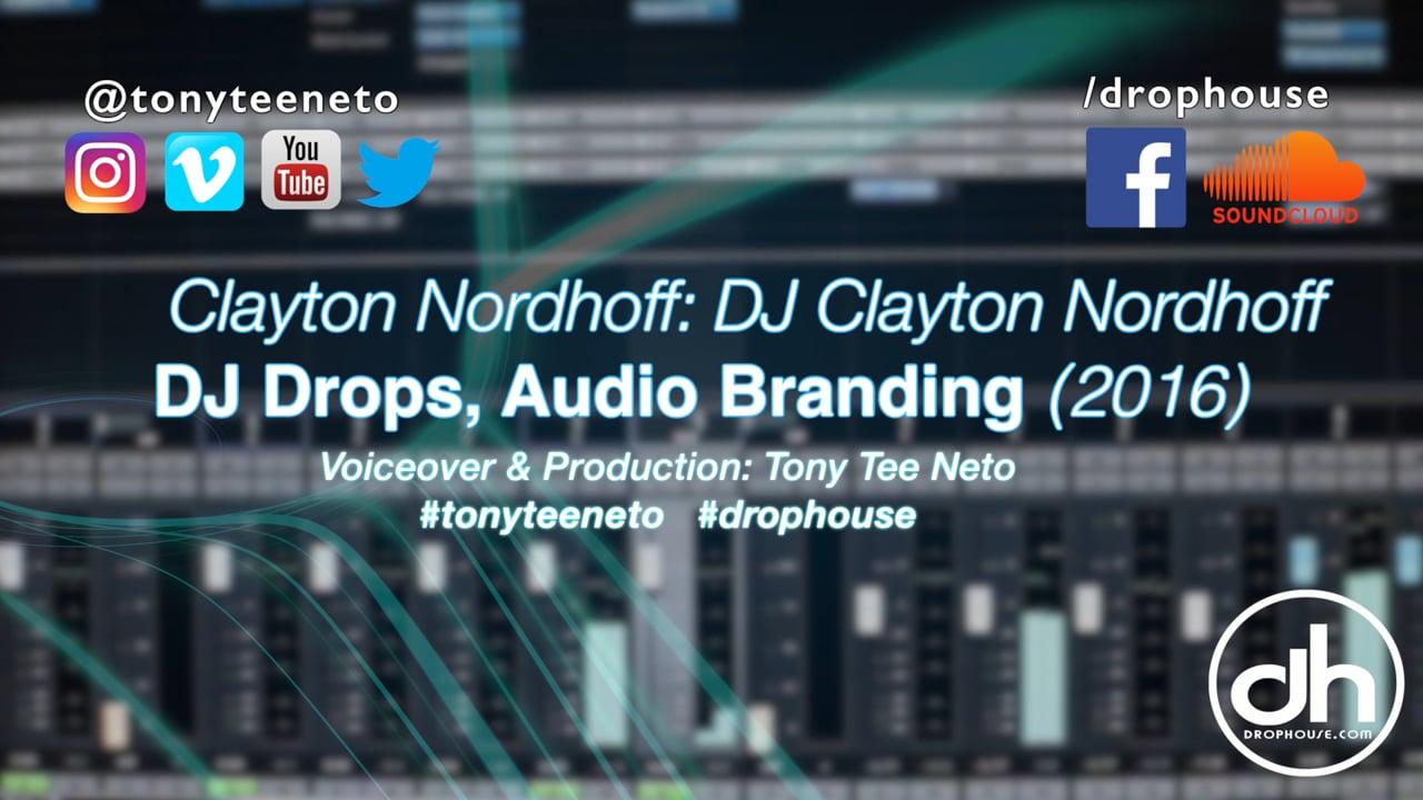 DropHouse- DJ Imaging, Audio Branding for DJ Clayton Nordhoff (2016)