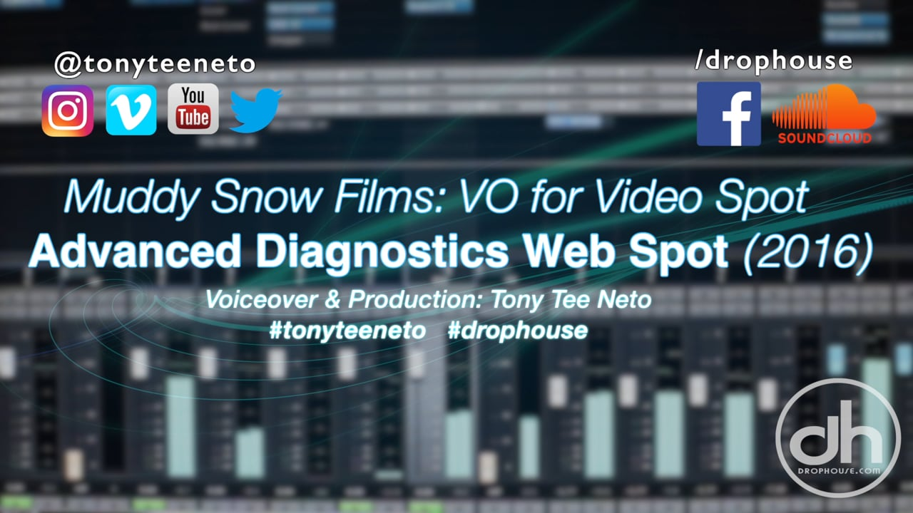 DropHouse- Voiceover for Web Spot Advanced Diagnostics (2016)
