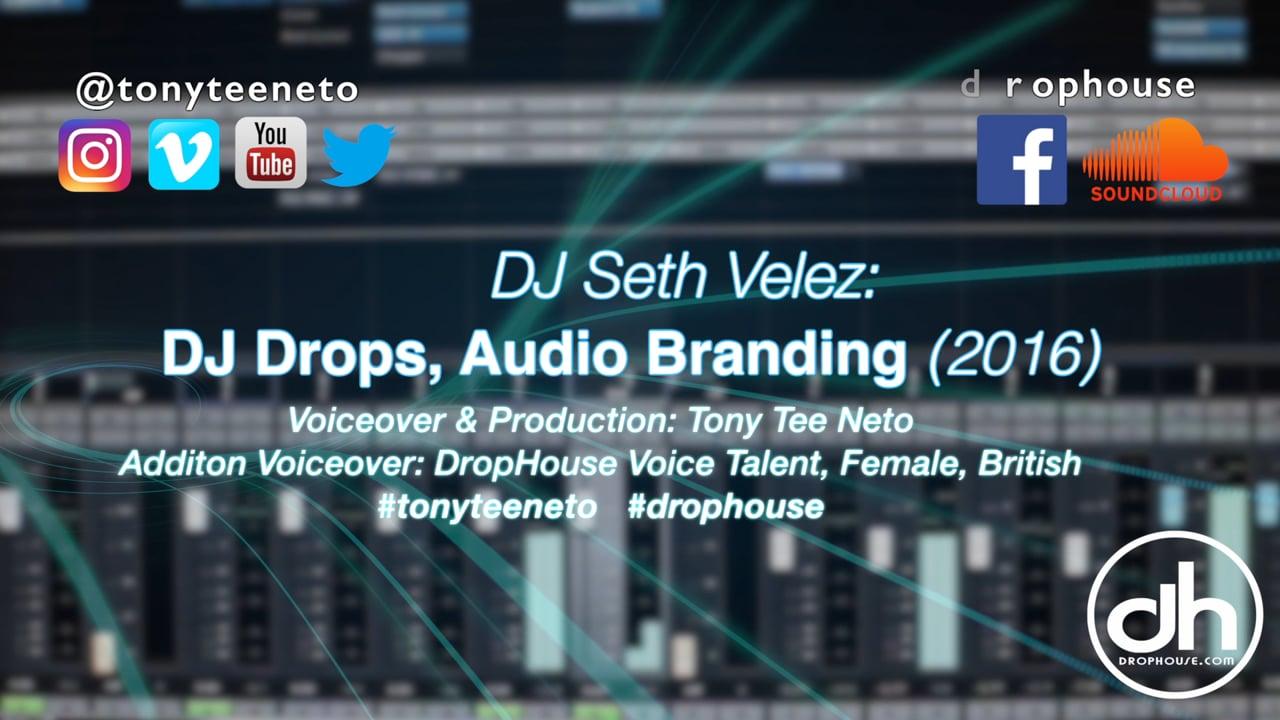 DropHouse Sample- Drops & Branding for Seth Velez (2016)