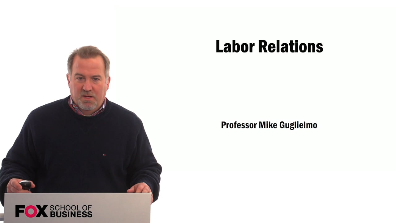 59525Labor Relations – Greg Richters Interview