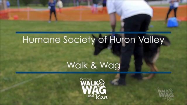 Humane Society of Huron Valley Walk & Wag