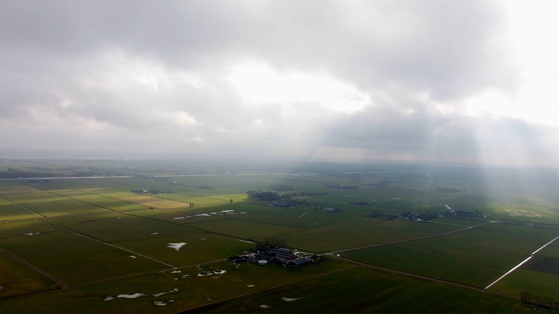 Timelaps teaser Groninger landschap