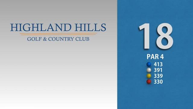 HIGHLAND HILLS 18