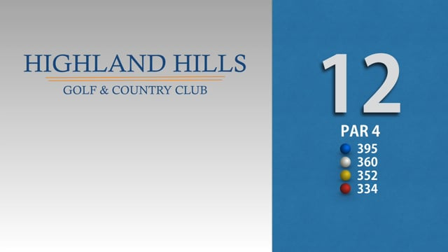 HIGHLAND HILLS 12