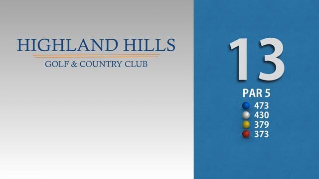 HIGHLAND HILLS 13