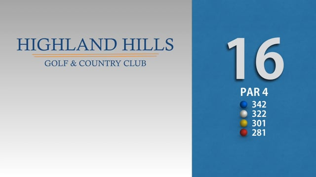 HIGHLAND HILLS 16