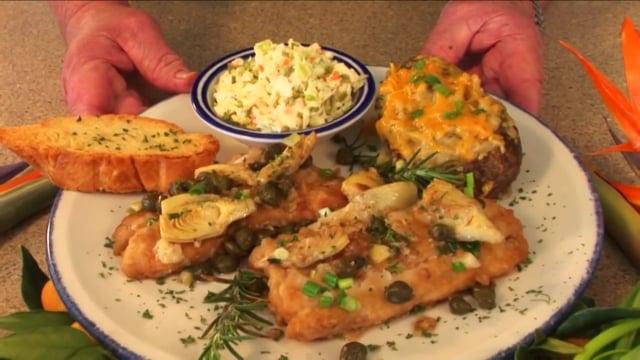 Chef Jim's Redfish Caprese