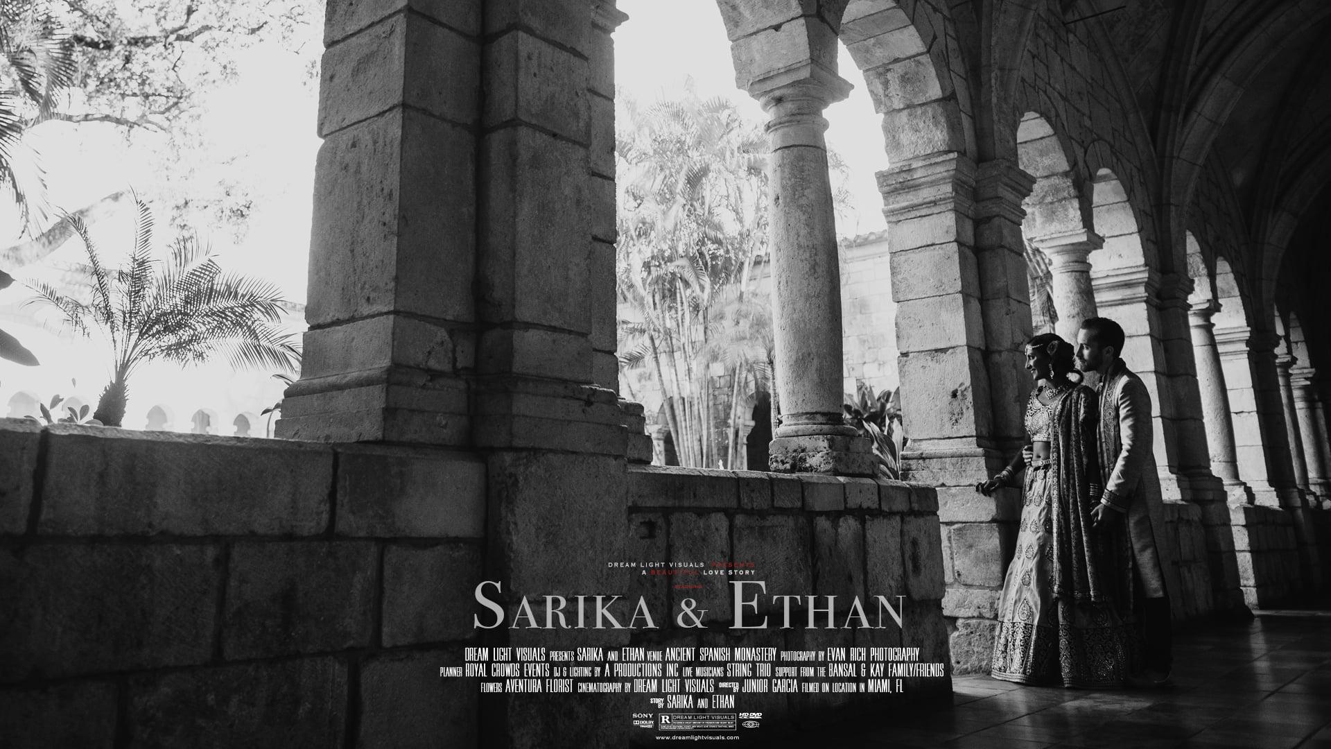 Amazing Royal Wedding at Ancient Spanish Monastery | Miami, FL | Sarika & Ethan