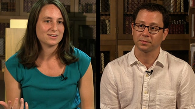 UR Summer Fellowships: Kelsey Ensign and Dr. Eric Yellin