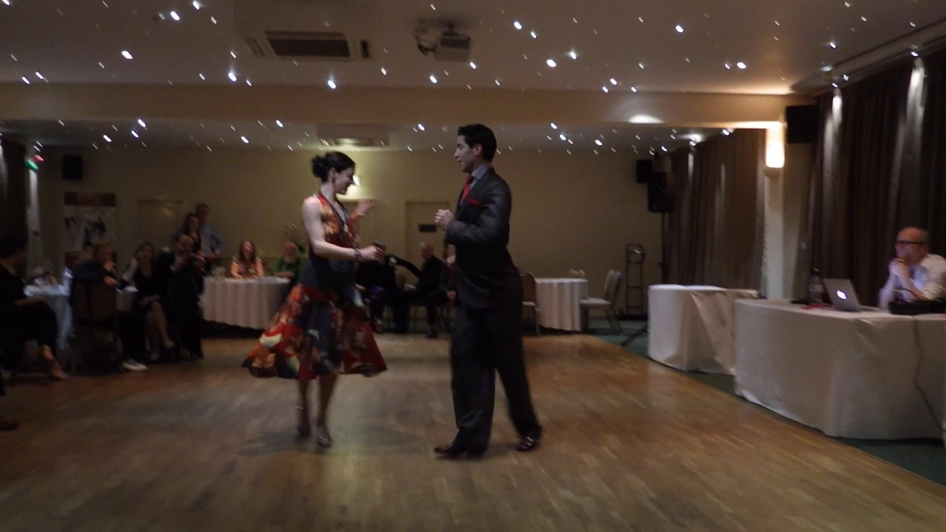 Jenny & Ricardo Oria, Inverness-Scotland, Feb'17, Milonga